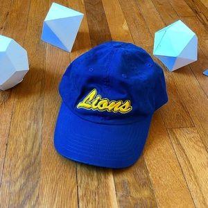 Lions Dad Hat Strapback Blue/Yellow